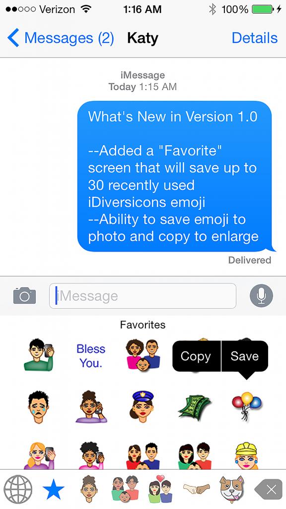 The First Diverse Emoji